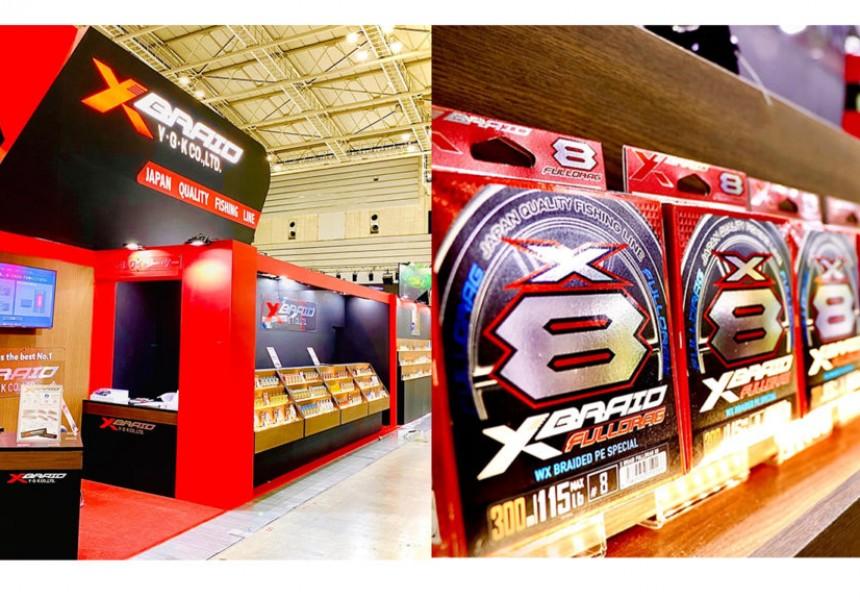 YGKニューコンセプトブランドXBRAID 大阪フィッシングショーにも出展致します。
