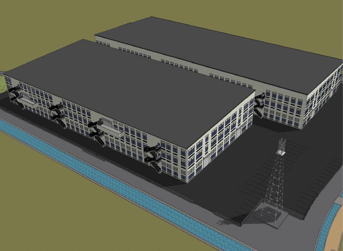 北島工場(2020年秋完成予定)