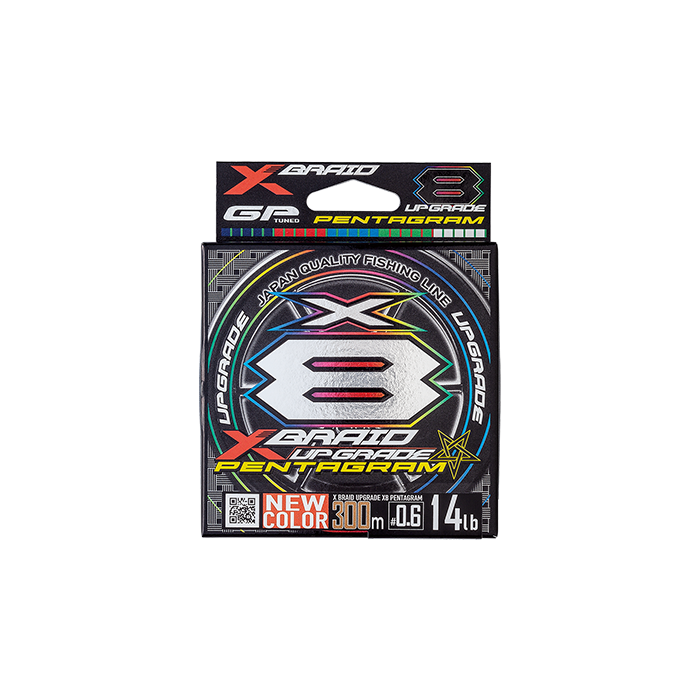 XBRAID UPGRADE X8 PENTAGRAM